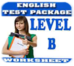 Grammar - Level B Test 1