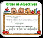 Unit 34: - Adjective Order
